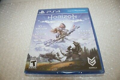 Horizon: Zero Dawn - Complete Edition PS4 [Brand New and Sealed]