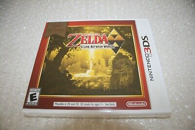 The Legend of Zelda: A Link Between Worlds [Nintendo 3DS, NTSC, To The Past] NEW