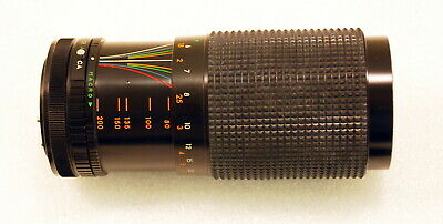 Sears 202.7370300 80-200mm f4 Zoom Lens w/Macro for Canon FD Mount Cameras