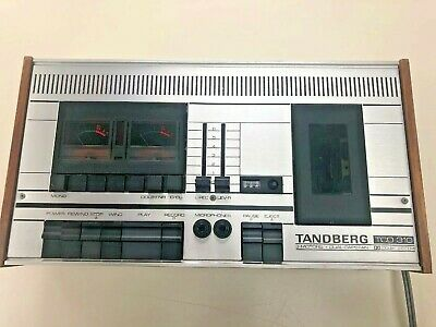 Vintage 1970s Tandberg TCD 310 Stereo Cassette Deck Player Made In Norway