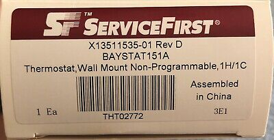 Trane Thermostat Wall Mount Non Programmable