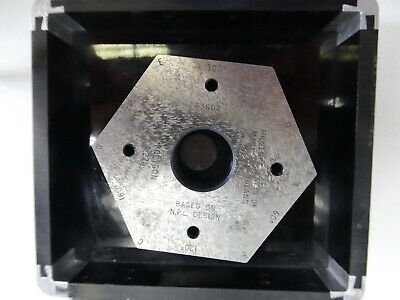 Hilger & Watts 6sid 60Deg Polygon for Autocollimator Microoptic Alignment Laser
