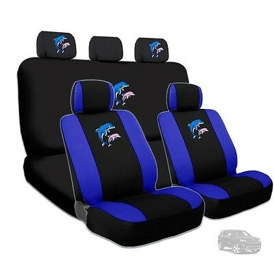 Wondrous 2 Cool Miami Dolphin Car Seat Covers Dark Blue Awesome Pabps2019 Chair Design Images Pabps2019Com