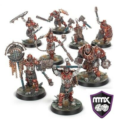 Warhammer Age of Sigmar - Warcry 8 Iron Golems (+ fighter and ability cards)