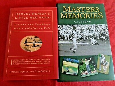 Sensational Lot Of 3 Golf Books The Masters Golfwatching Oversize Gmtry Best Dining Table And Chair Ideas Images Gmtryco