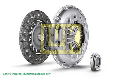Clutch Kit 3pc (Cover+Plate+Releaser) fits BMW 318 F31 1.5 2015 on B38B15A LuK