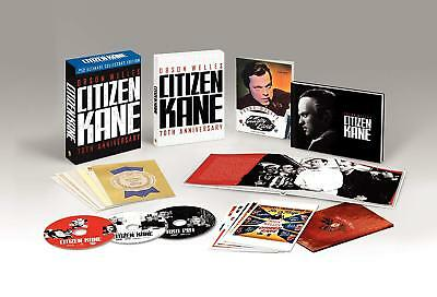 Citizen Kane Coffret Blu-ray 70th Anniversary Ultimate Collector Import US ST-FR