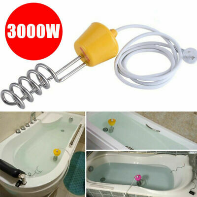 3000W Hot Water Heater Immersion Element Boiler for Bath tub Swimming Pool