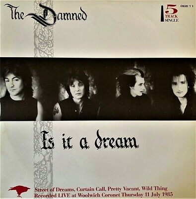 "The Damned - Is It A Dream (12"") (VG-EX/VG-EX)"
