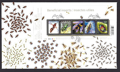 Canada  # 2410a  SS       BENEFICIAL INSECTS       New 2010 Unaddressed