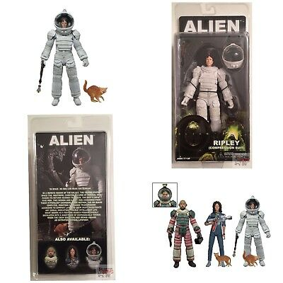 "RIPLEY COMPRESSION SUIT NECA Aliens SERIES 4 ALIEN 2015 7"" INCH Action Figure"