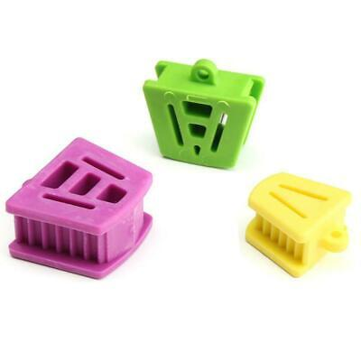 3X Dental Silicone Mouth Bite Block Rubber Mouth Opener R0T7 De Retractorp C2H0