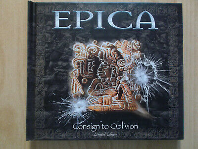 Epica Cd/Dvd: Consign To Oblivion (Limited Edition Digibook)