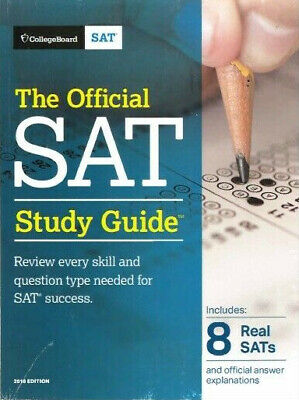 The Official SAT Study Guide, 2018 Edition by The College Board (P.DF)