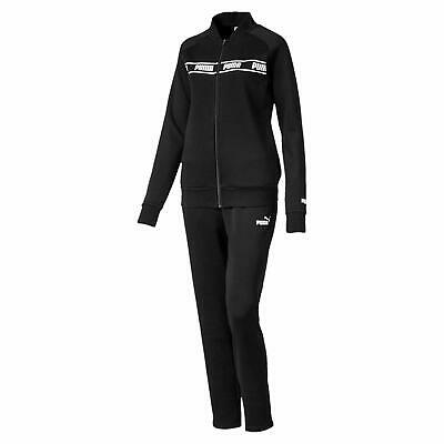 Puma Womens Classic Full Tracksuit Ladies Girls Amplified Sweat Track Suit - New