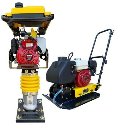 Honda Tamper Rammer  AND Plate Compactor Combo!! Jumping Jack 3 Year Warranty