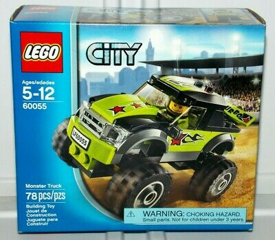 LEGO City Monster Truck (60055) 78PCS Building Car Racing Toy Retired