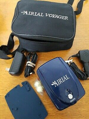"""AIRIAL Voyager Nebulizer """"Works in home or in car"""""""