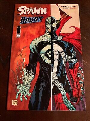 Spawn #234 Origin of Costume Todd McFarlane  Haunt  Image Comics 2013 NM