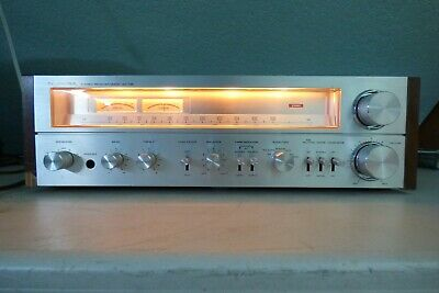 Vintage 1978 Toshiba SA-735 Receiver Satin Face Wood Trimmed..Working
