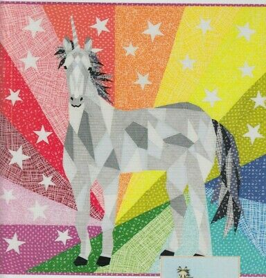 Unicorn & Horse Abstractions - foundation paper pieced quilt PATTERN