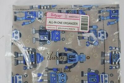 Thirty One All In One Organizer Playful Robots Baby Child