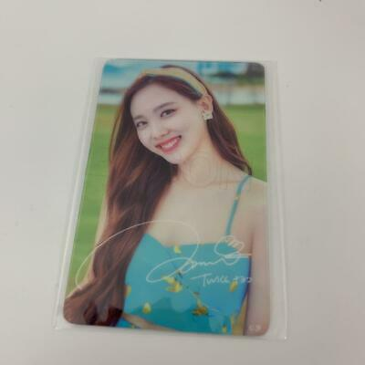 "Twice Japan POPUP STORE ""Twaii's Shop""- Official Transparent PhotoCard : Nayeon-"