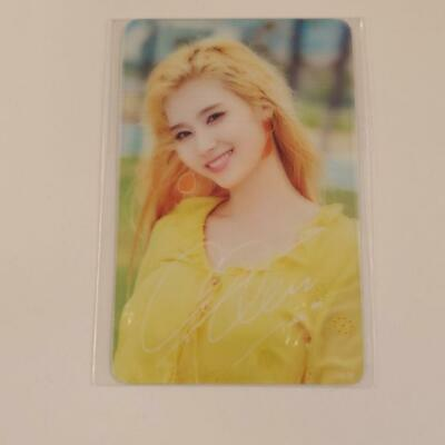 "Twice Japan POPUP STORE ""Twaii's Shop""- Official Transparent PhotoCard : Sana -"