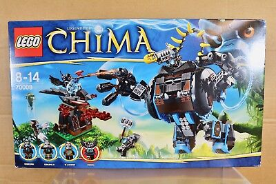 14502 Legends Of Chima NEW LEGO Sticker Sheet ONLY for Set 70008