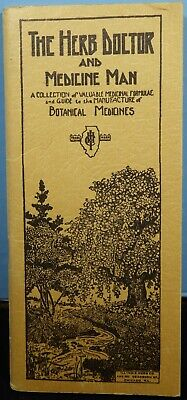 The Herb Doctor & Medicine Man Pocket Guide to Medicinal Herbs & Remedies