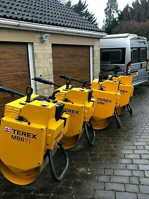 Benford Terex MBR71 1-71 pedestrian rollers and trailers