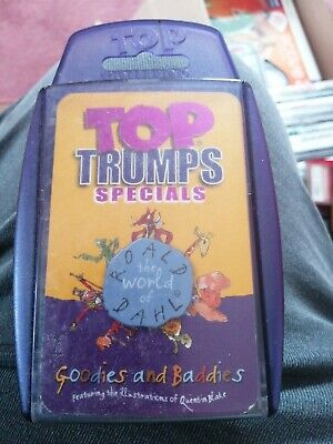 Top Trumps Specials The World of Roald Dahl Goodies and Baddies. 2012.