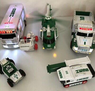 Hess Toy Truck LotHelicopter Bus Truck ATV Years From 2008-2018