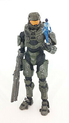 MCFARLANE TOYS HALO 4 Series 2 - Master Chief with Railgun and Micro