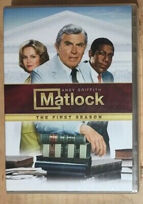 Matlock The First Season TV Show DVD Full Screen Andy Griffith Lawyer Dolby