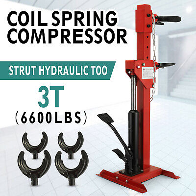 New Coil Spring Compressor 6600 lbs Auto. Strut Hydraulic Tool 3T