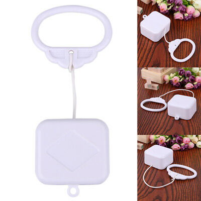 Pull Ring String Cord Music Box Baby Infant Kids Bed Bell Rattle Toy Gift