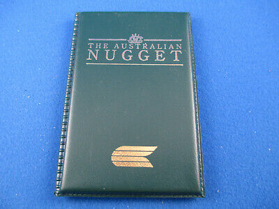 1993 $5 AUSTRALIAN NUGGET 1/20oz GOLD COIN IN RIGINAL GREEN FOLDER. A BEAUTY!!!