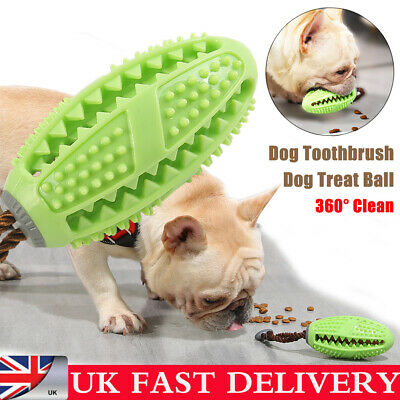 Dog Toothbrush Toy Clean Teeth Brushing Stick Pet Brush Mouth Chewing Clean Ball