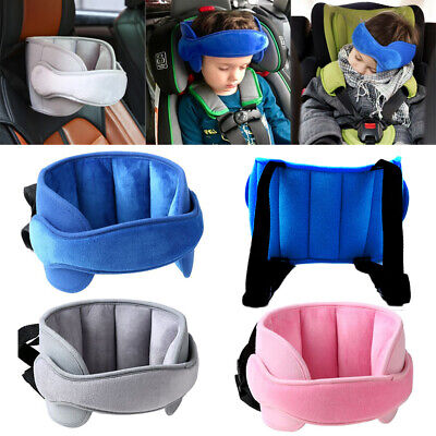 Adjustable Baby Kids Safety Head Support Band Toddler Car Seat Child Neck Belt