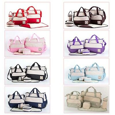 5X Portable Baby Toddler Diaper Nappy Bag Maternity Mummy Travel Shoulder Nice