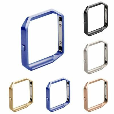 For Fitbit Blaze Protection Frame Metal Holder Shell Case  Stainless Steel