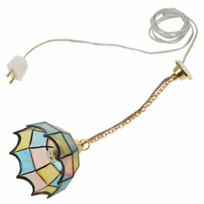 Doll house miniature beautiful color ceiling lamp light Hanging lamps R6U9
