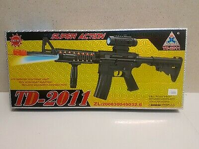 Battery Operated Toy TD2011 M16/M4 Toy Gun With Light And Sound