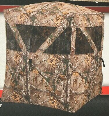 AMERISTEP 2 PERSON Shadow Guard Durashell Plus Doghouse Ground Blind
