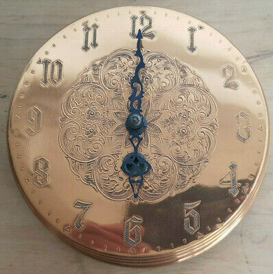Vintage Copper Wind Up Wall Clock - Smiths Industries Limited