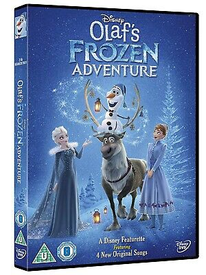Olaf's Frozen Adventure (DVD, 2017) *NEW/SEALED*