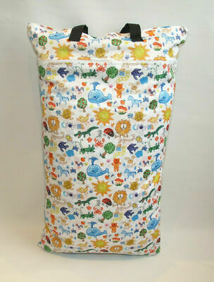 Extra Large XL Wet Bag - Baby Nappy Pail for Reusable Nappies & Pads - Sketch