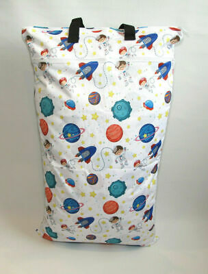 Extra Large XL Wet Bag - Baby Nappy Pail for Reusable Nappies & Pads - Space