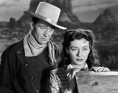 John Wayne Gail Russell 8X10 Glossy Photo Picture
